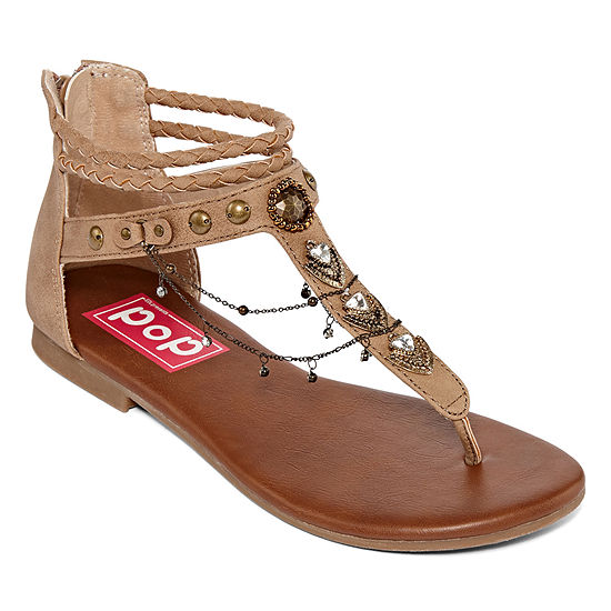 ddf422203215e Pop Womens Amica Ankle Strap Gladiator Sandals - JCPenney
