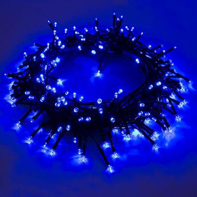 ALEKO 100 LED Solar Powered Holiday Christmas Decorating Fairy Party String Lights