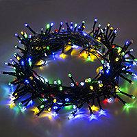 christmas ornaments and lights