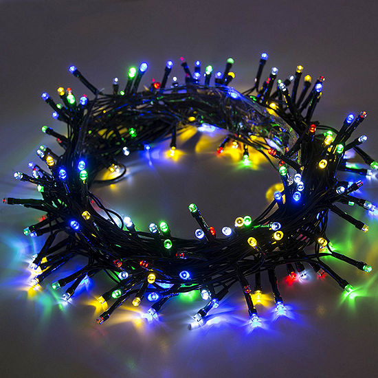 ALEKO Solar Powered 200 LED Holiday Christmas Party String Lights Lot of 4