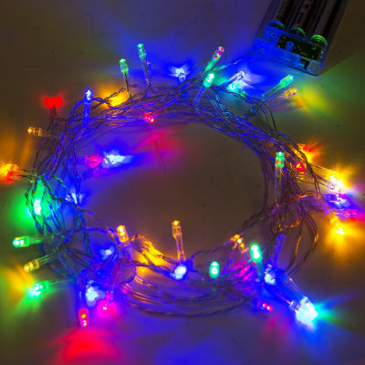 ALEKO 30 LED Battery Operated Christmas Holiday Party String Lights