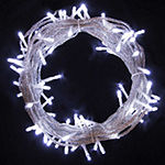 Electric Powered 100 LED Extendable Light Christmas Holiday Party Lights