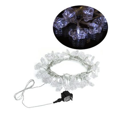 Electric Powered 50 LED Extendable Crown Light Christmas Holiday Party Lights