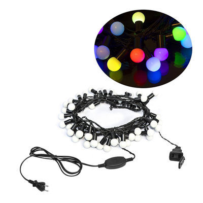 Electric Powered 75 LED Extendable Light Christmas Holiday Party Lights