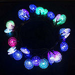 ALEKO Solar Powered 30 LED Decorate Christmas Holiday String Lights