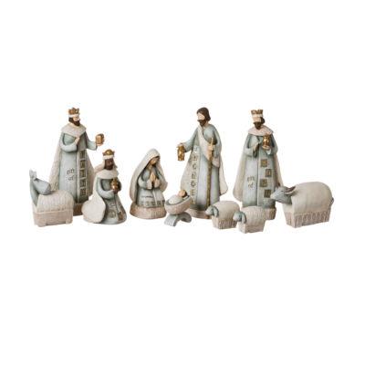 Roman 7.5 Inch 10-pc. Nativity Set