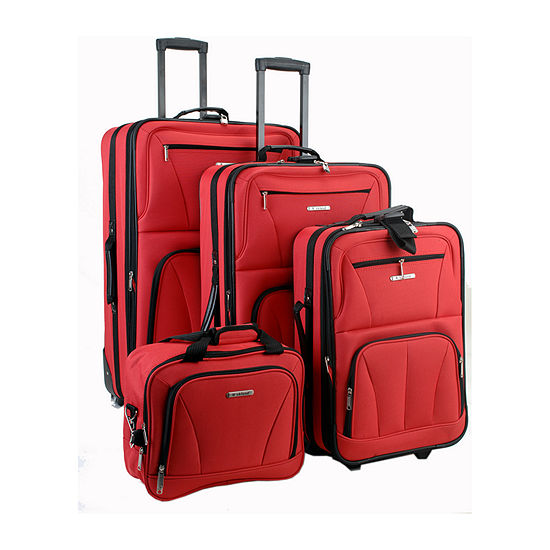 Rockland Journey 4-pc. Luggage Set