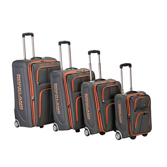 Rockland Varsity 4-pc. Luggage Set
