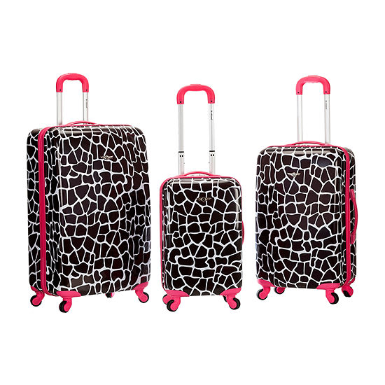 Rockland Safari 3-pc. Hardside Luggage Set