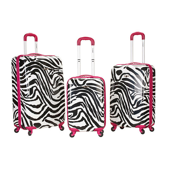 Rockland Safari 3-pc. Hardside Luggage Set