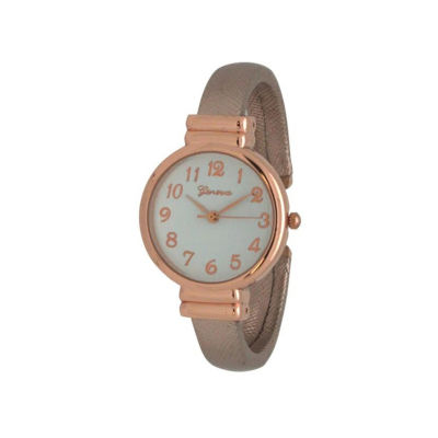 Olivia Pratt Womens Gold Tone Bangle Watch-17517gold