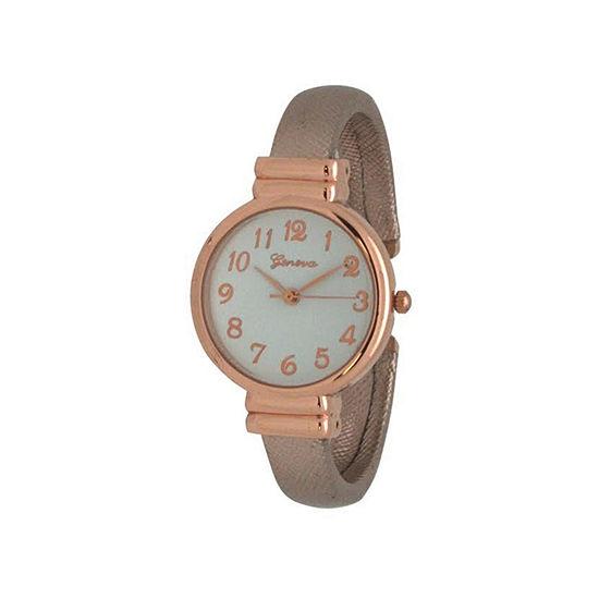 Olivia Pratt Womens Gold Tone Bangle Watch 17517gold