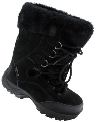Hi-Tec St. Moritz 200 Wp Ii Womens Lace Up Waterproof Insulated Winter Boots