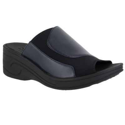 Easy Street Slight Womens Slide Sandals