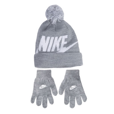 Nike Swoosh Hat & Glove Set - Boys 4-7