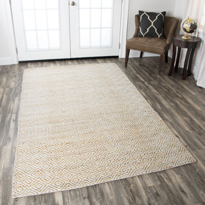 Rizzy Home Ellington Collection Raelynn Pattern Rectangular Rugs