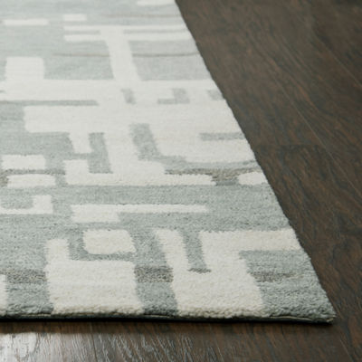 Rizzy Home Leone Collection Ellie Abstract Rectangular Rugs