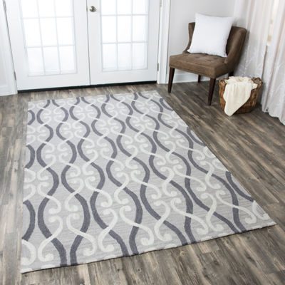 Rizzy Home Loureli Collection Summer Geometric Rectangular Rugs