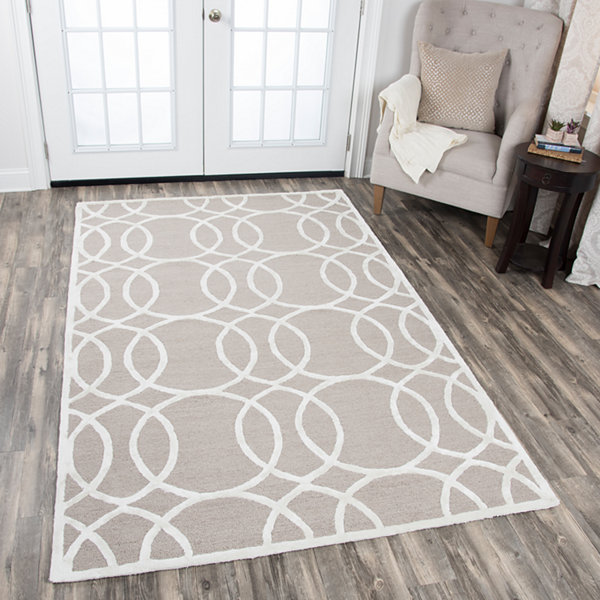 Rizzy Home Monroe Collection Madelyn Geometric Rectangular Rugs