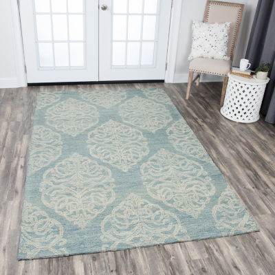 Rizzy Home Opulent Collection Lola Medallion Rectangular Rugs