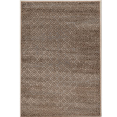 Jewel Collection Patchwork Power Loomed Rug