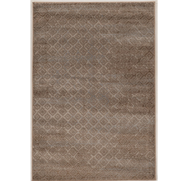 Jewel Collection Vintage Diamonds Power Loomed Rug