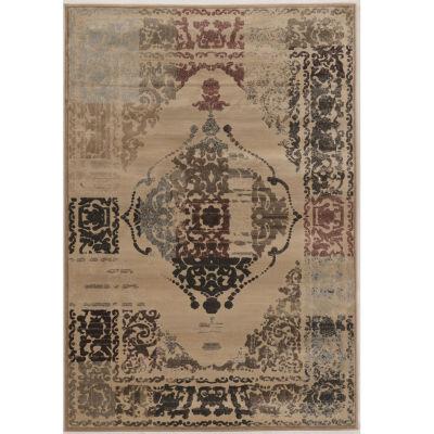 Jewel Collection Vintage Oriental Power Loomed Rug
