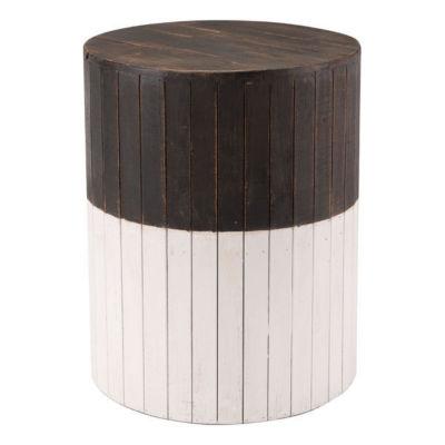 Wooden Round Patio Garden Stool