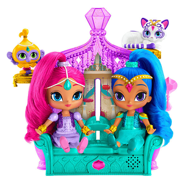 Fisher-Price Shimmer and Shine Float & Sing Palace riends