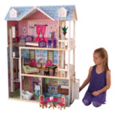 Kidkraft Grand View Mansion Dollhouse With Ez Kraft Assembly Jcpenney
