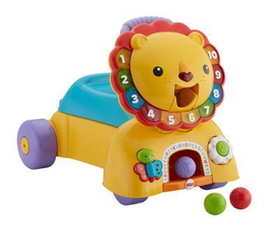 Fisher-Price 3-in-1 Sit Stride & Ride Lion