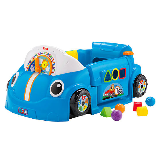 Fisher-Price Laugh & Learn Crawl Around Car-Blue
