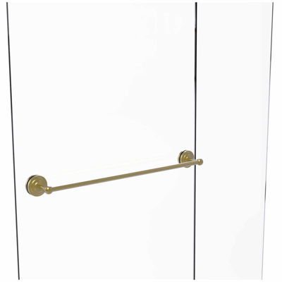 Allied Brass Monte Carlo Collection 30 IN Shower Door Towel Bar