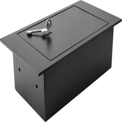 Barska Floor Safe With Key Lock 0.22 Cubic Ft.