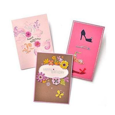 Gartner Greetings®  Premium Greeting Cards, 3 pack - Birthday For Her