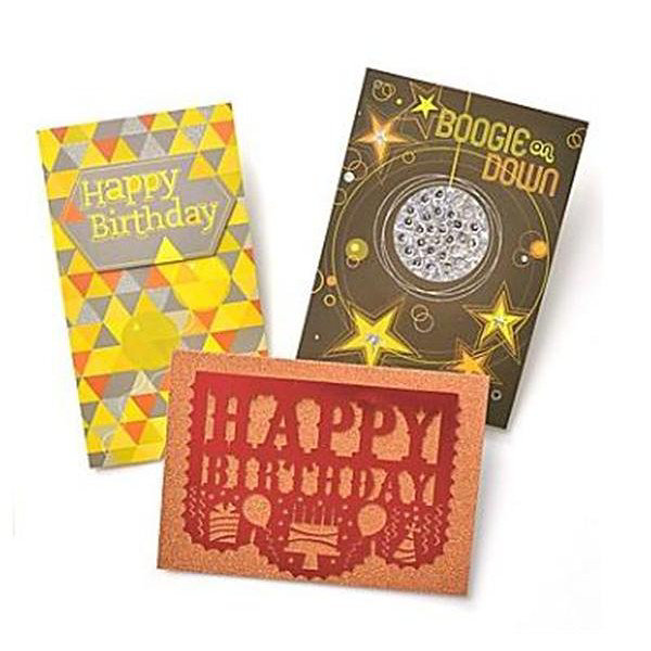 Gartner Greetings®  Premium Greeting Cards, 3 pack - Birthday