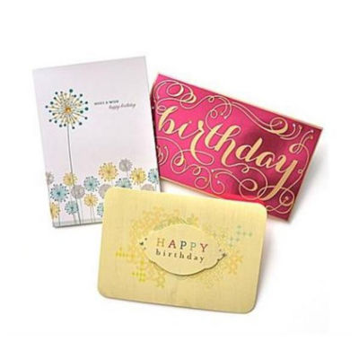 Gartner Greetings® Premium Birthday Greeting Cards- 3 pack
