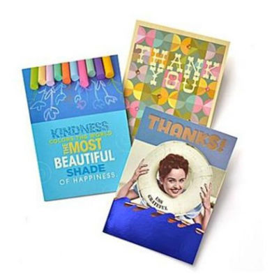 Gartner Greetings®  Premium Greeting Cards, 3 pack - Thank You