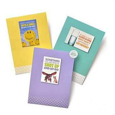 Gartner Greetings®  Boutique Greeting Cards, 3 pack - Birthday