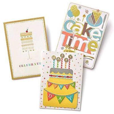 Gartner Greetings®  Premium Greeting Cards, 3 pack - Birthday