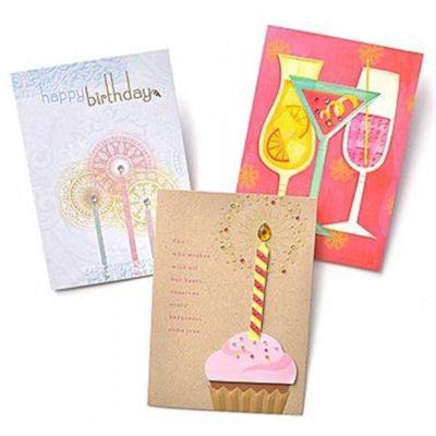Gartner Greetings® Premium Greeting Cards- Birthday- 3 pack