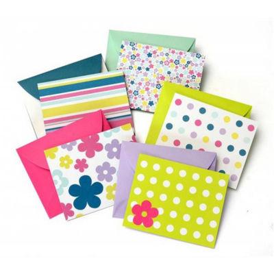 Assorted Bright Notecards- Bulk