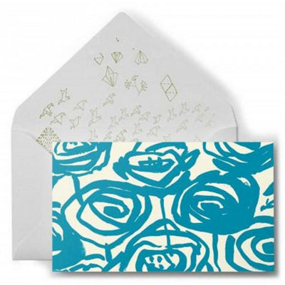 Abstract Rose Notecards