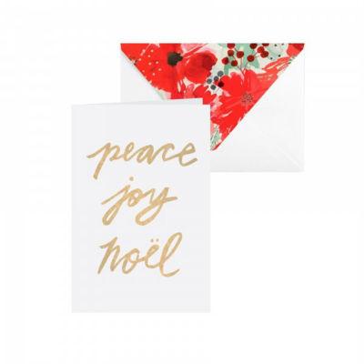 Peace, Joy, Notel Note Card Set
