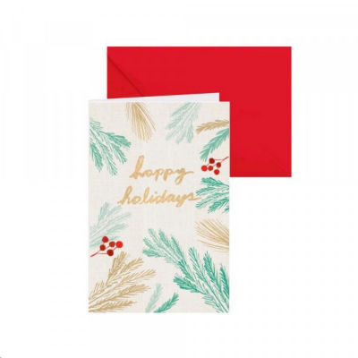 Merry Christmas Note Card Set