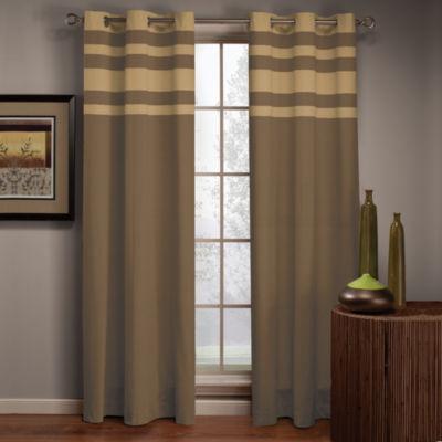 Streamline Grommet-Top Curtain Panel