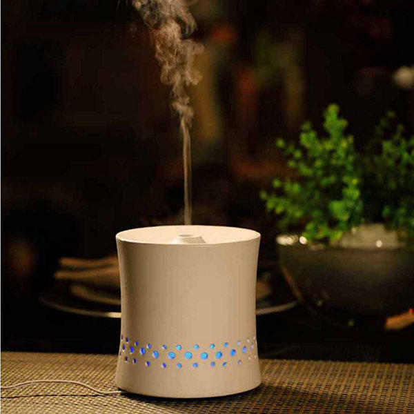 SPT SA-055W: Ultrasonic Aroma Diffuser/Humidifier with Ceramic Housing - White