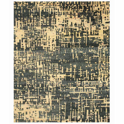 Eastern Rugs Hand-knotted Contemporary Abstract Anand Rug
