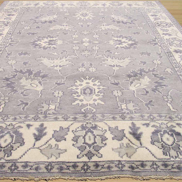 Eastern Rugs Hand-knotted Traditional Oriental Mono Rug