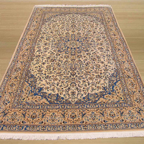 Eastern Rugs Hand-knotted Traditional Oriental Naiin Rug